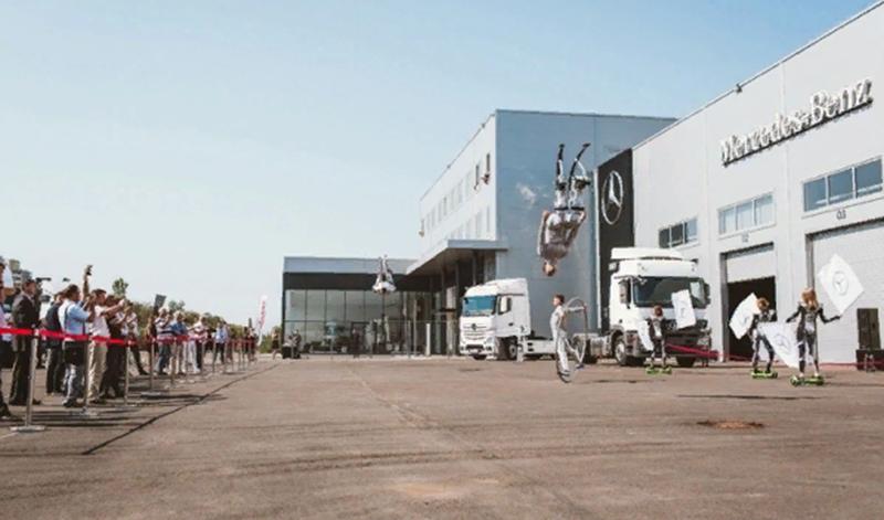 В Санкт-Петербурге открылся новый сервисный центр грузовой техники Mercedes-Benz