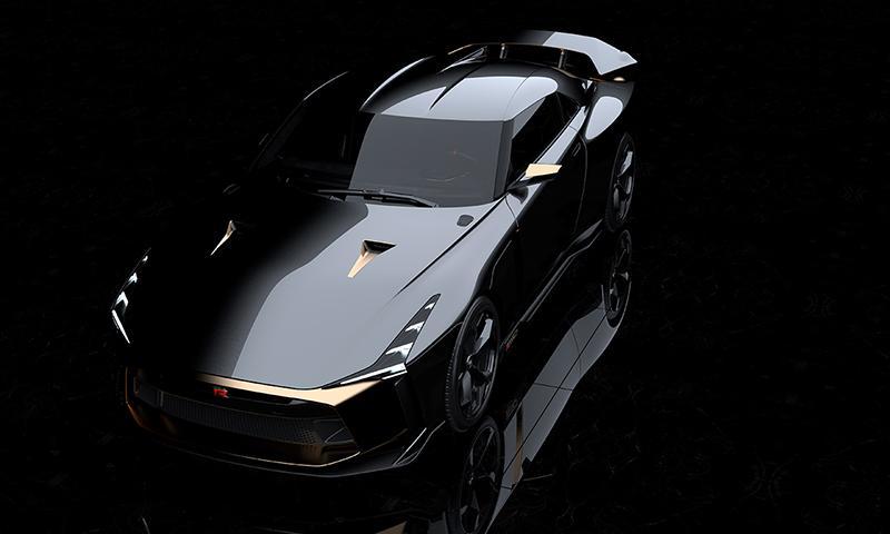 Nissan:Скоро состоится мировая премьера нового концепта Nissan GT-R50