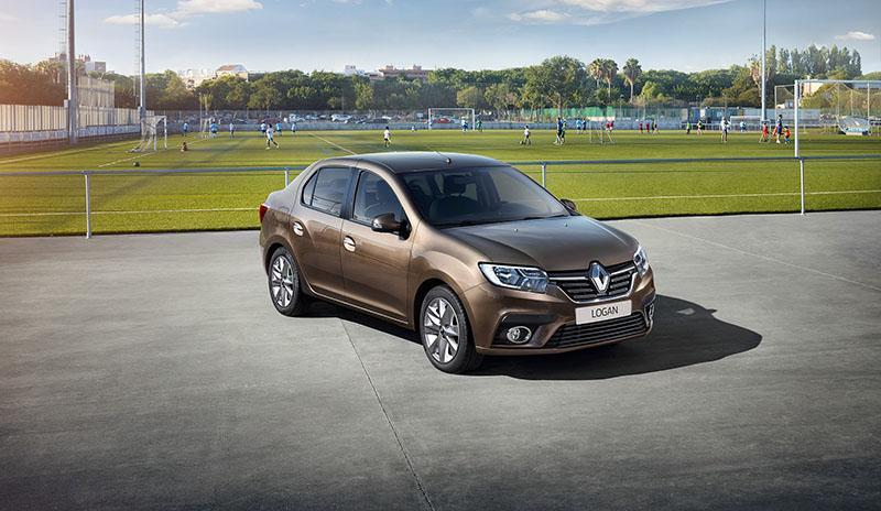 Renault Россия представляет обновление легендарного городского седана Logan и хетчбэка Sandero