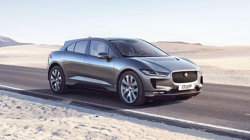 Jaguar Россия анонсирует цены на первый полностью электрический кроссовер Jaguar I-PACE