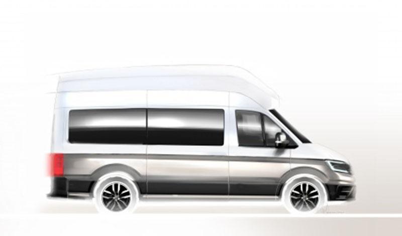 Volkswagen:Volkswagen Коммерческие автомобили представит новый кемпер на базе Crafter на выставке Caravan Salon 2018