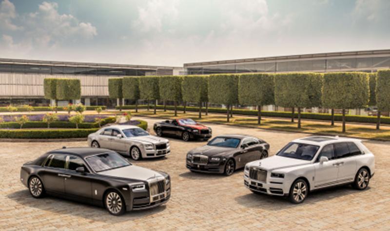 В первом полугодии на модели Rolls-Royce вырос спрос