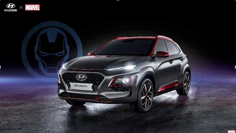 В Сан-Диего на Comic-Con 2018 Hyundai представил Kona Iron Man Edition