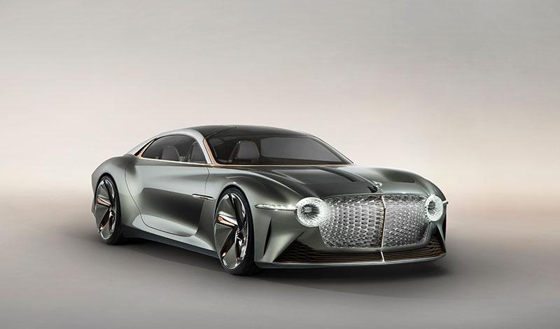 Bentley EXP 100 GT Новый концепт-кар от Bentley в классе Gran Turismo