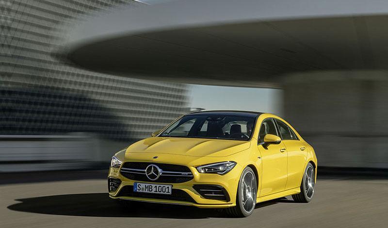 Mercedes-Benz:Мерседес показал AMG CLA 45 4MATIC+