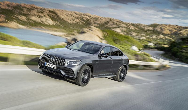 Мерседес представил купе GLC 43 4MATIC