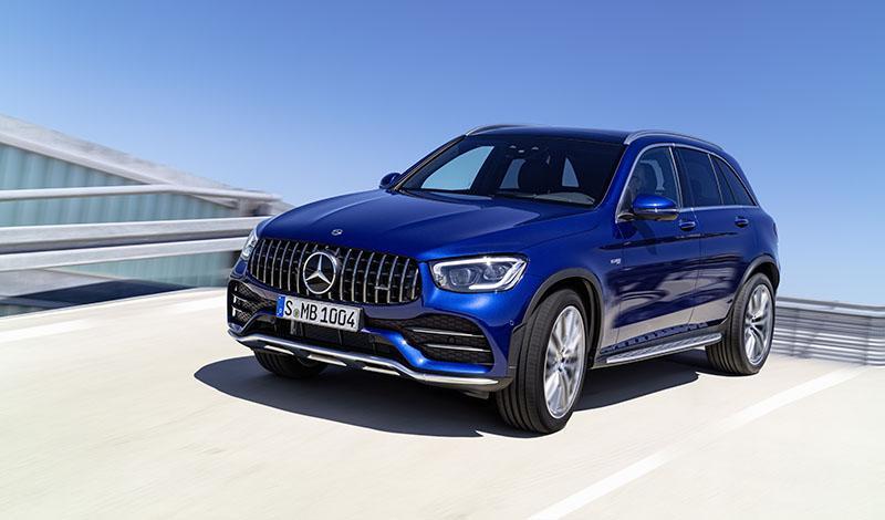 Mercedes-Benz:Мерседес обновил внедорожник GLC 43 4MATIC