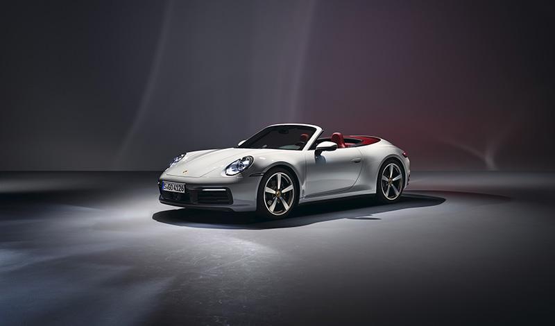 Porsche представила 911 Carrera Cabriolet с двигателем мощностью 385 л.с