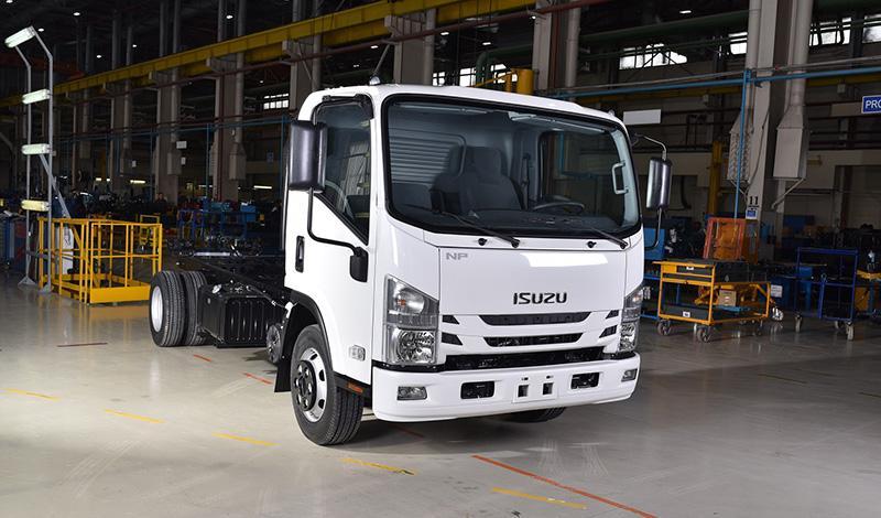 ISUZU RUS расширяет модельный ряд малотоннажных грузовиков ISUZU ELF (N-серия)