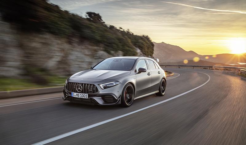 Mercedes-Benz:Представлен горячий компактный Мерседес AMG A 45 4MATIC+