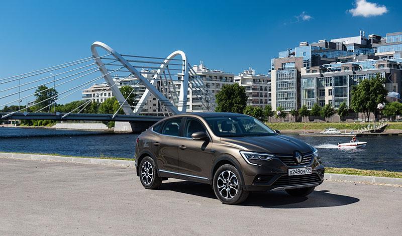 Тест-драйв Renault ARKANAво всех дилерских центрах РФ