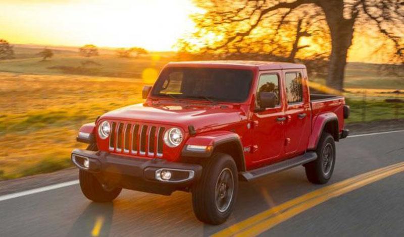 Новый Jeep Gladiator. Надеемся на появление в России