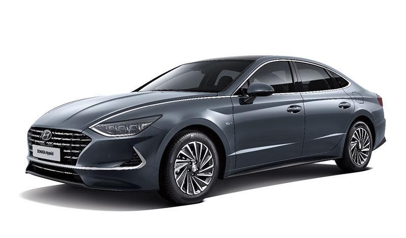 Hyundai:Hyundai представила гибридный Sonata Hybrid с с системой солнечных батарей на крыше