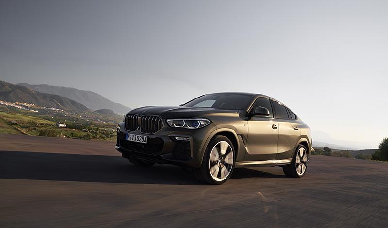 БМВ представила новый BMW X6 2020
