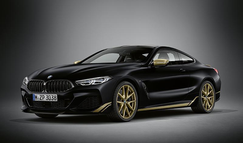 В России появится три уникальных BMW 8 серии Coupe и семь BMW 8 серии Gran Coupe в исполнении Golden Thunder Edition
