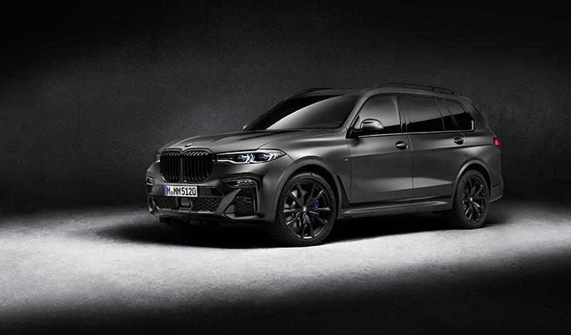 Всего 60 эксклюзивных BMW X7 Dark Shadow Edition для рынка России