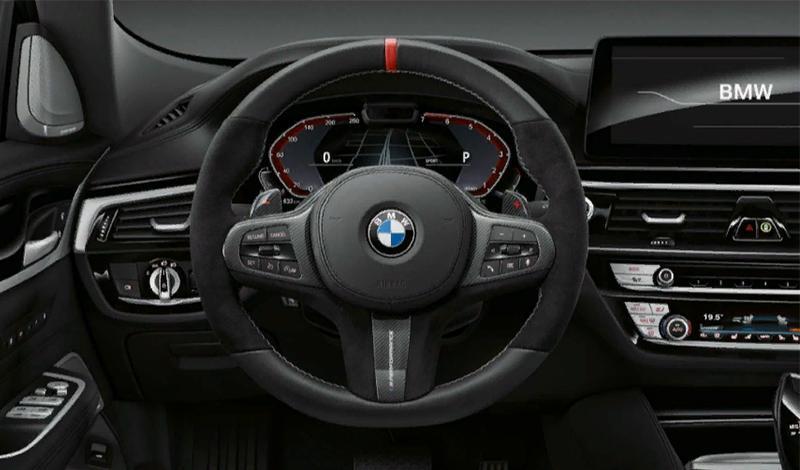 BMW с опцией Live Cockpit Professional получили функцию предупреждения о камерах контроля скорости и проезда на красный свет