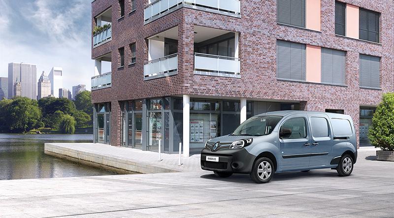 Renault:Renault Россия представляет новый электрический грузопассажирский фургон Renault KANGOO Z.E. 33