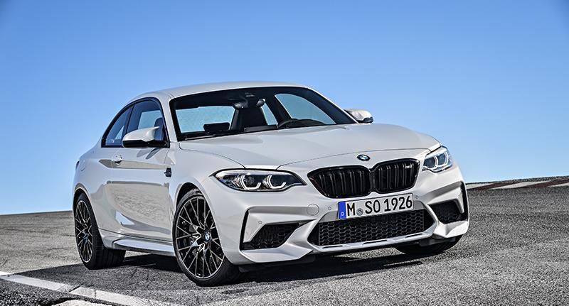 BMW объявляет цены на новое спортивное купе M2 Competition 2018 года