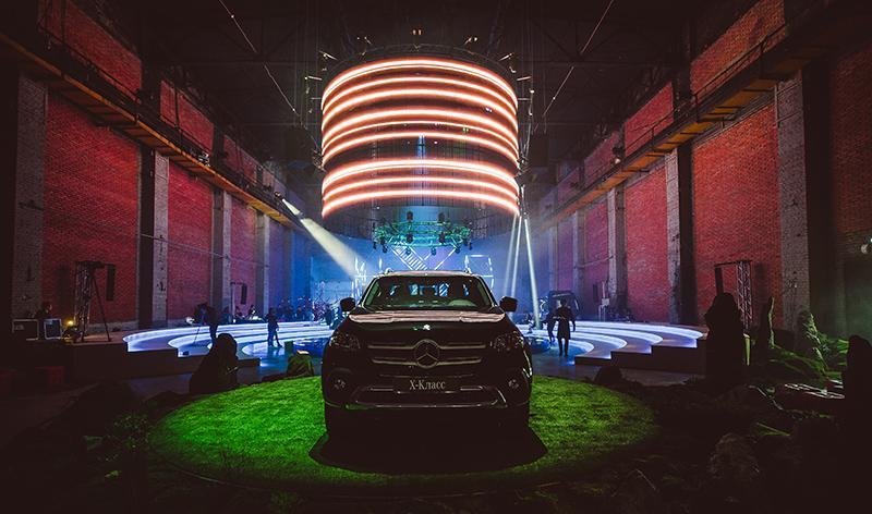 В России состоялась презентация премиального пикапа Mercedes-Benz X-Класса