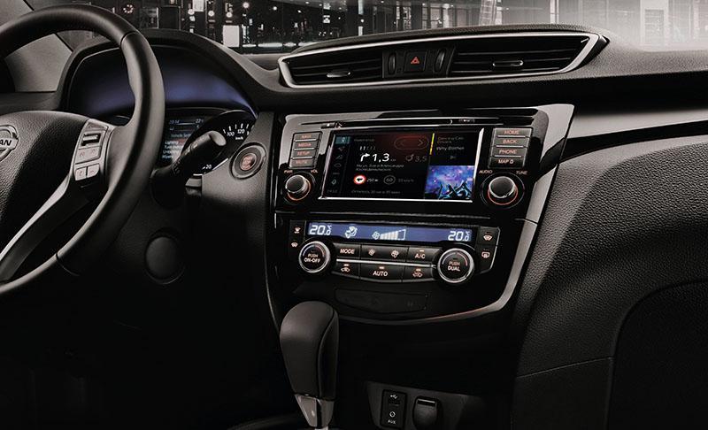 Nissan:Nissan объявляет о старте продаж серийных Qashqai и X-Trail со встроенной мультимедийной системой Яндекс.Авто