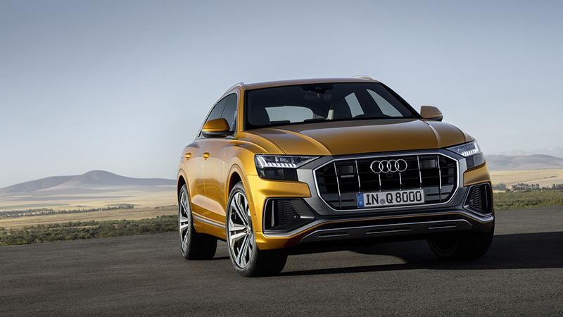 Представлен Уникальный Новый Audi Q8