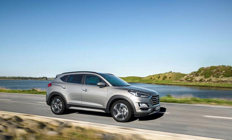 Hyundai запускает в производство новый гибридный Tucson с мягкой дизель-электрической силовой установкой