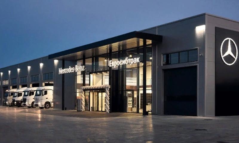 Mercedes-Benz:В Омске открылся новый дилерский центр Mercedes-Benz
