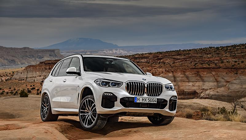 Официально:  принципиально новый BMW X5 2018 года