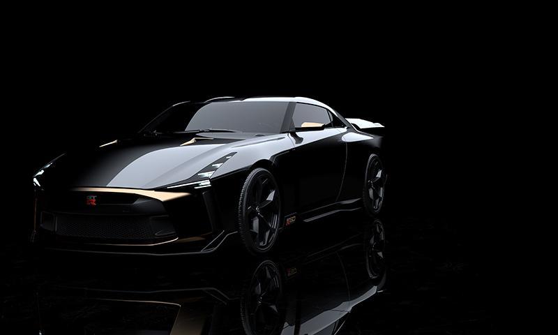 Nissan и Italdesign объединились для создания уникального прототипа – Nissan GT-R50.