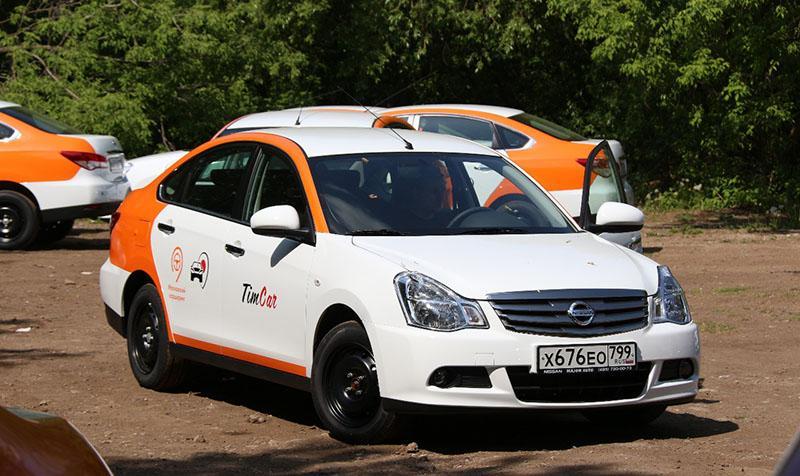 Nissan пополнит парк московского каршеринга TimCar седанами Almera