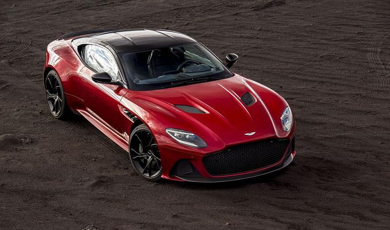 Aston Martin представил абсолютно новый DBS Superleggera