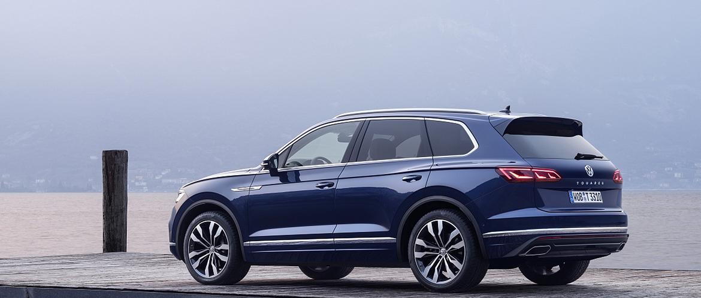 Volkswagen озвучил цены на Touareg 2018 во всех комплектациях