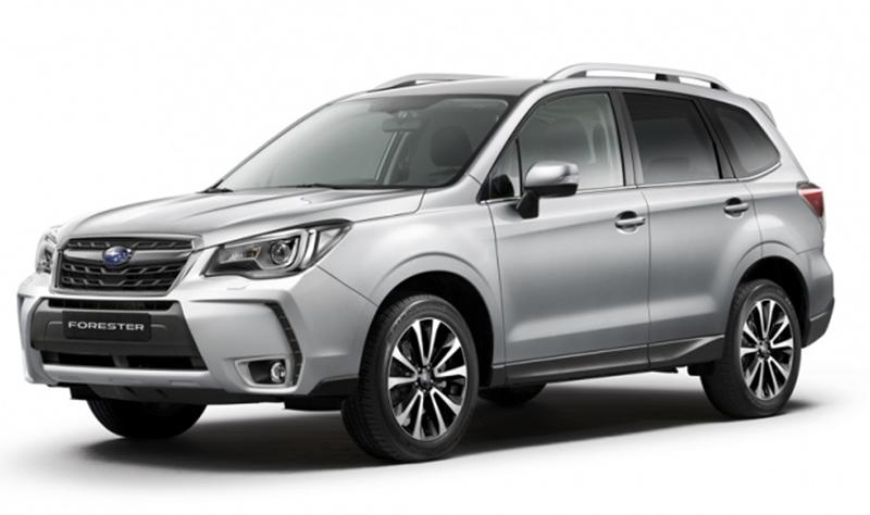 Subaru представила юбилейную версию Forester «60th Anniversary»