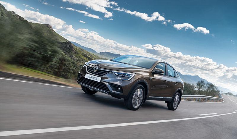 Стартовали заказы на Renault ARKANA. Цена от999000 рублей