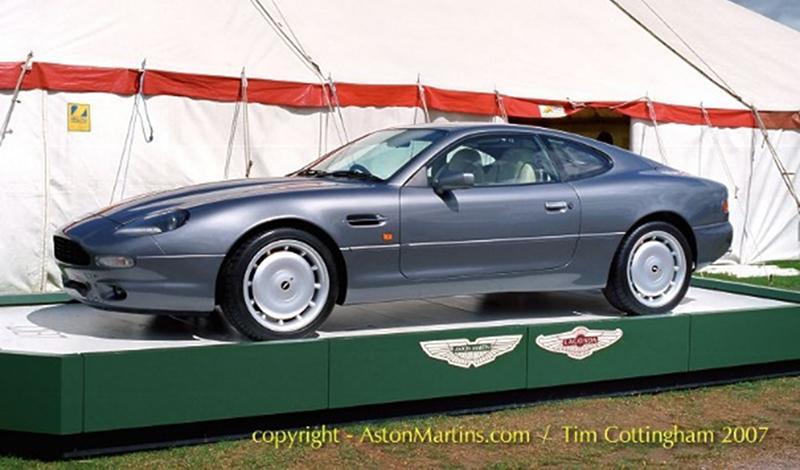 Aston Martin 1 сентября 2019 года отпразднует 25-летие с момента запуска DB7