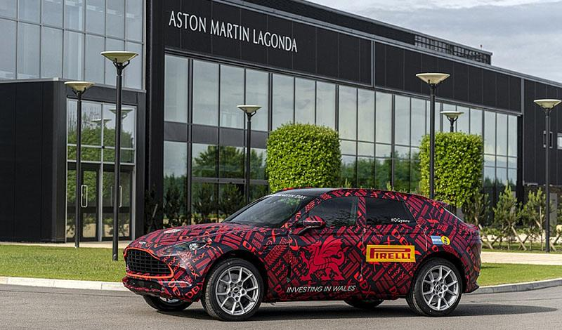 В 2020 году планируется запуск производства внедорожников Aston Martin DBX