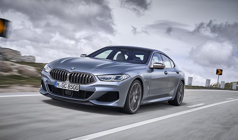 BMW представила четырехдверку Gran Coupe 8 серии