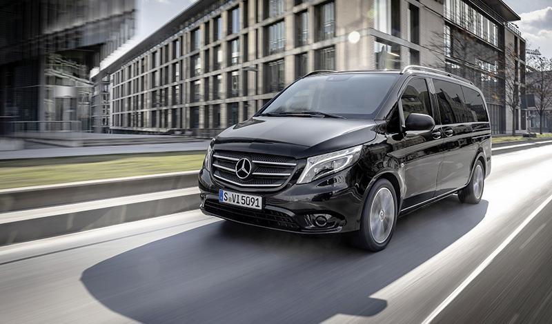 Mercedes-Benz Vito получил новый окрас и опции