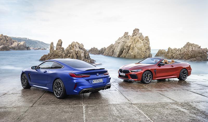 BMW представил M8 купе и М8 кабриолет и их трековые версии Competition