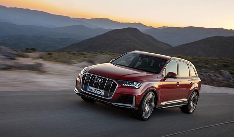 Audi представила рестайлинг Q7