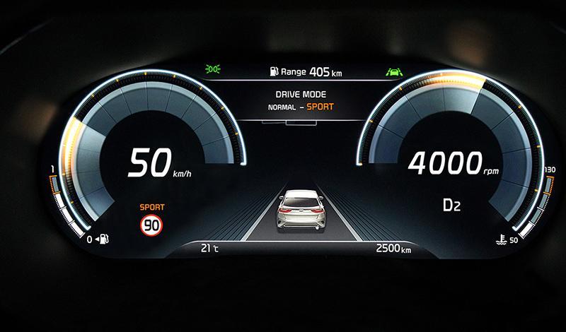 KIA XCeed в качестве опции получит цифровую панель приборов Supervision