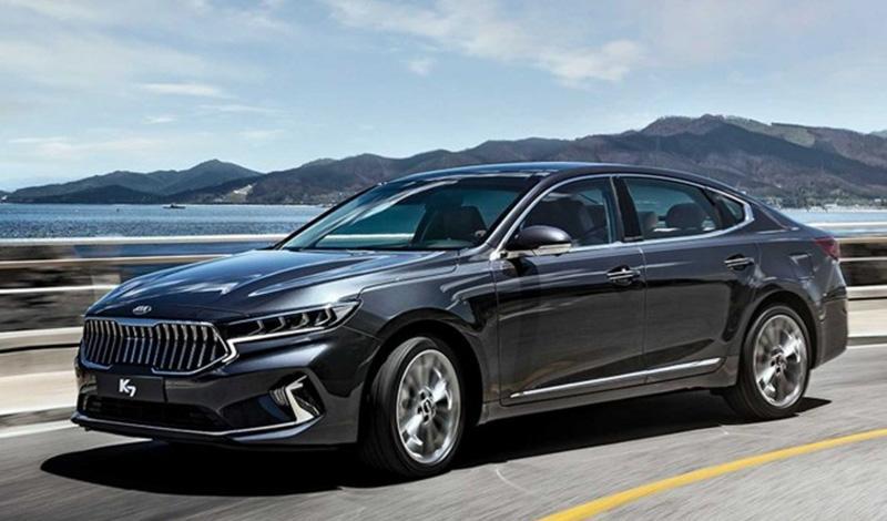 В Корее представили обновленную модель бизнес-класса – седан Kia К7 Premier