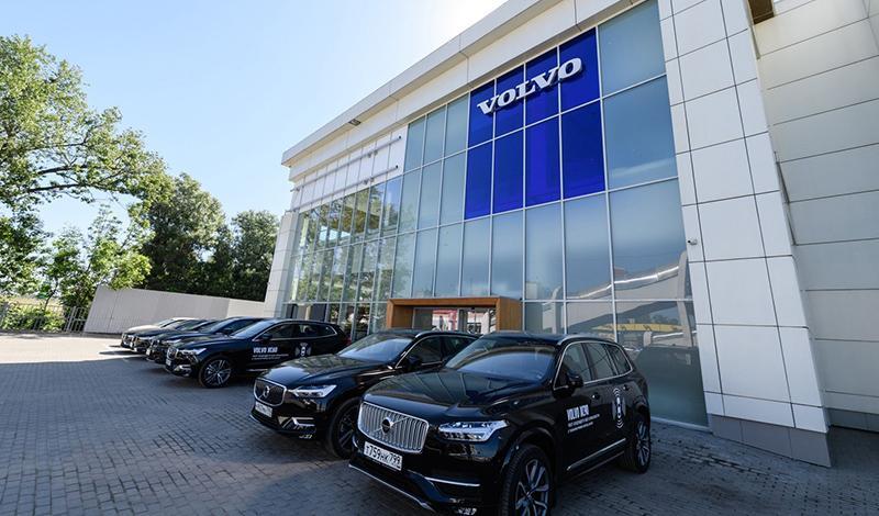 Vоlvo открыл два новых дилерских центра в Московской области