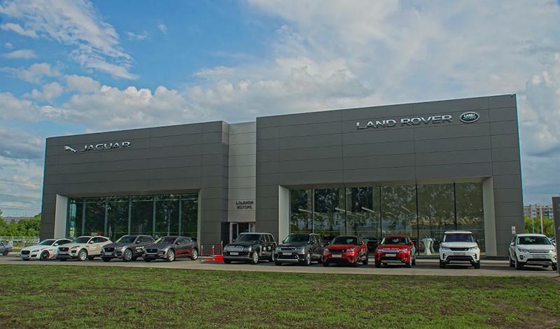 В Новосибирске официальный дилер «Альбион-Моторс» обновился до стандарта дизайн-концепции ARCH