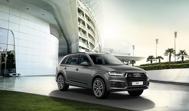 Audi представил Q7 лимитированной версии S line Edition