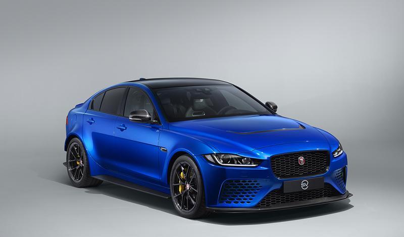 Jaguar разработал новую версию экстремального седана XE SV Project 8