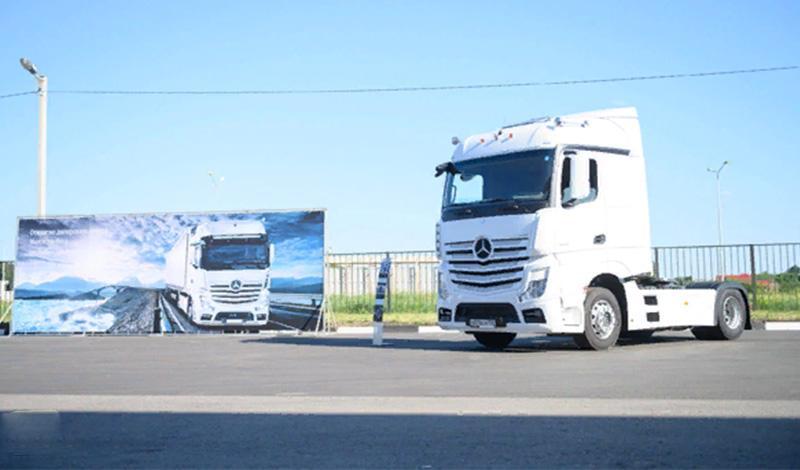 «ДАЙМЛЕР КАМАЗ РУС» открыл новый дилерский центр Mercedes-Benz «ГудТракс»