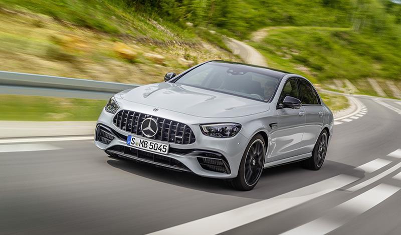 Mercedes-Benz:Новый седан Mercedes-AMG E 63 4MATIC+