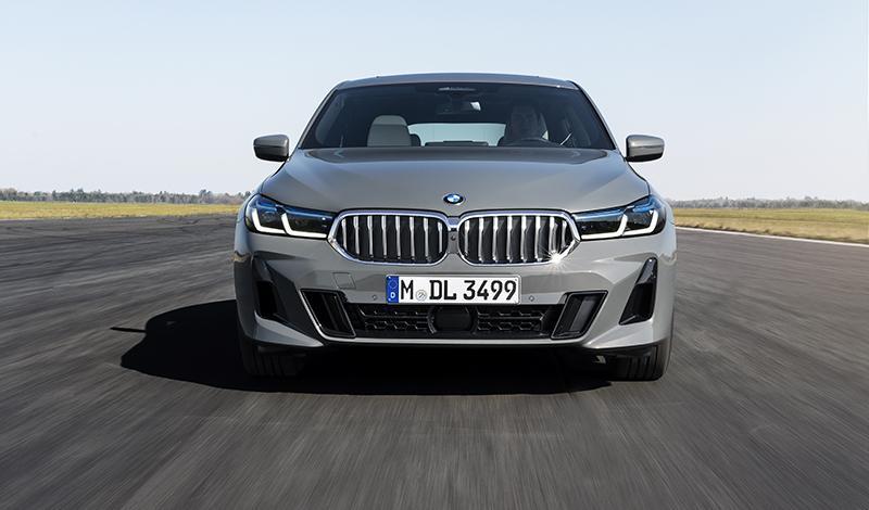 Цены и комплектации рестайлинговой BMW 6 серии GT